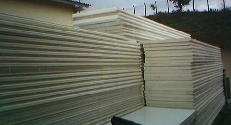 Placas para montagem de camara fria